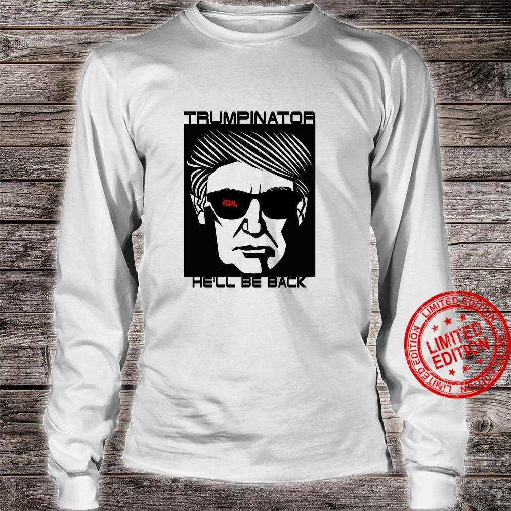 Trump 2024 Back In Office Part 2 47th President USA Shirt long sleeved